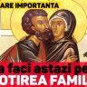 Sfintii Drept Parinti Ioachim si Ana, ocrotitorii familiei