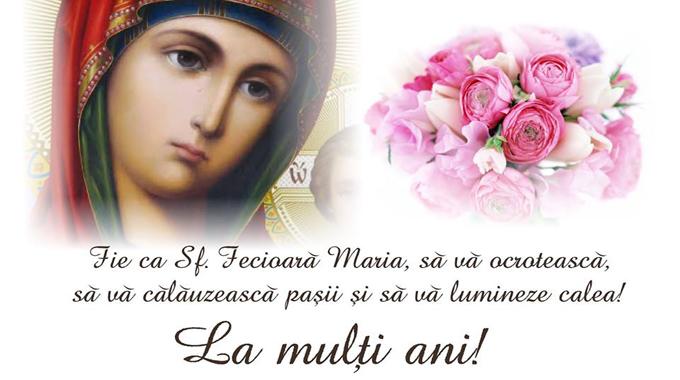 Mesaje si sms-uri de Sfanta Maria. Urari pentru cei dragi care isi serbeaza ziua numelui.